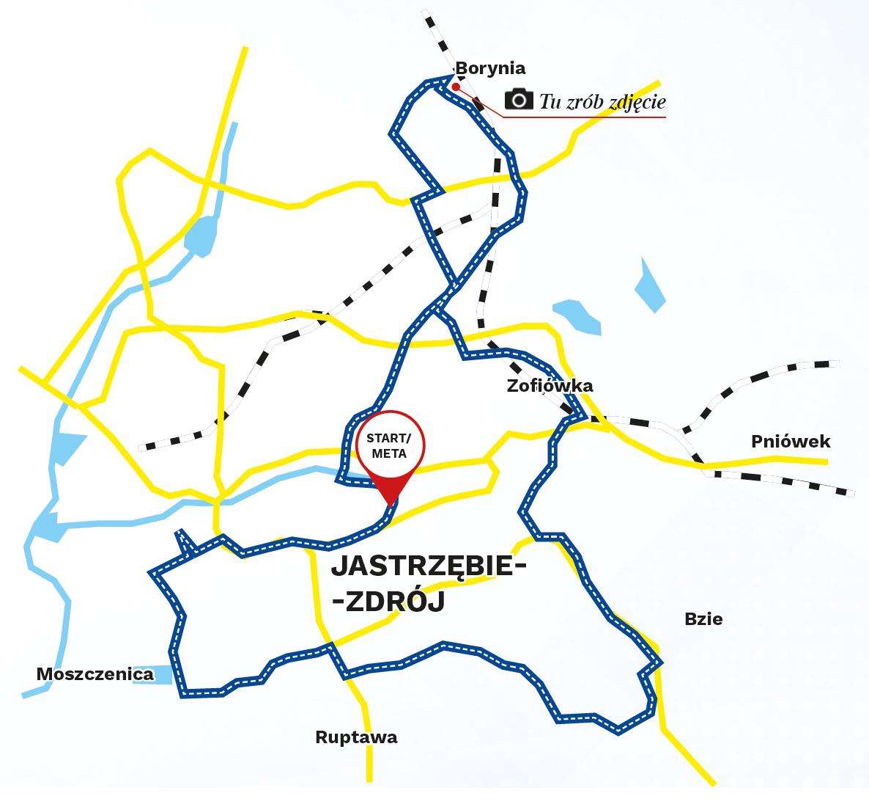 mapa_jastrzebie_górnicza