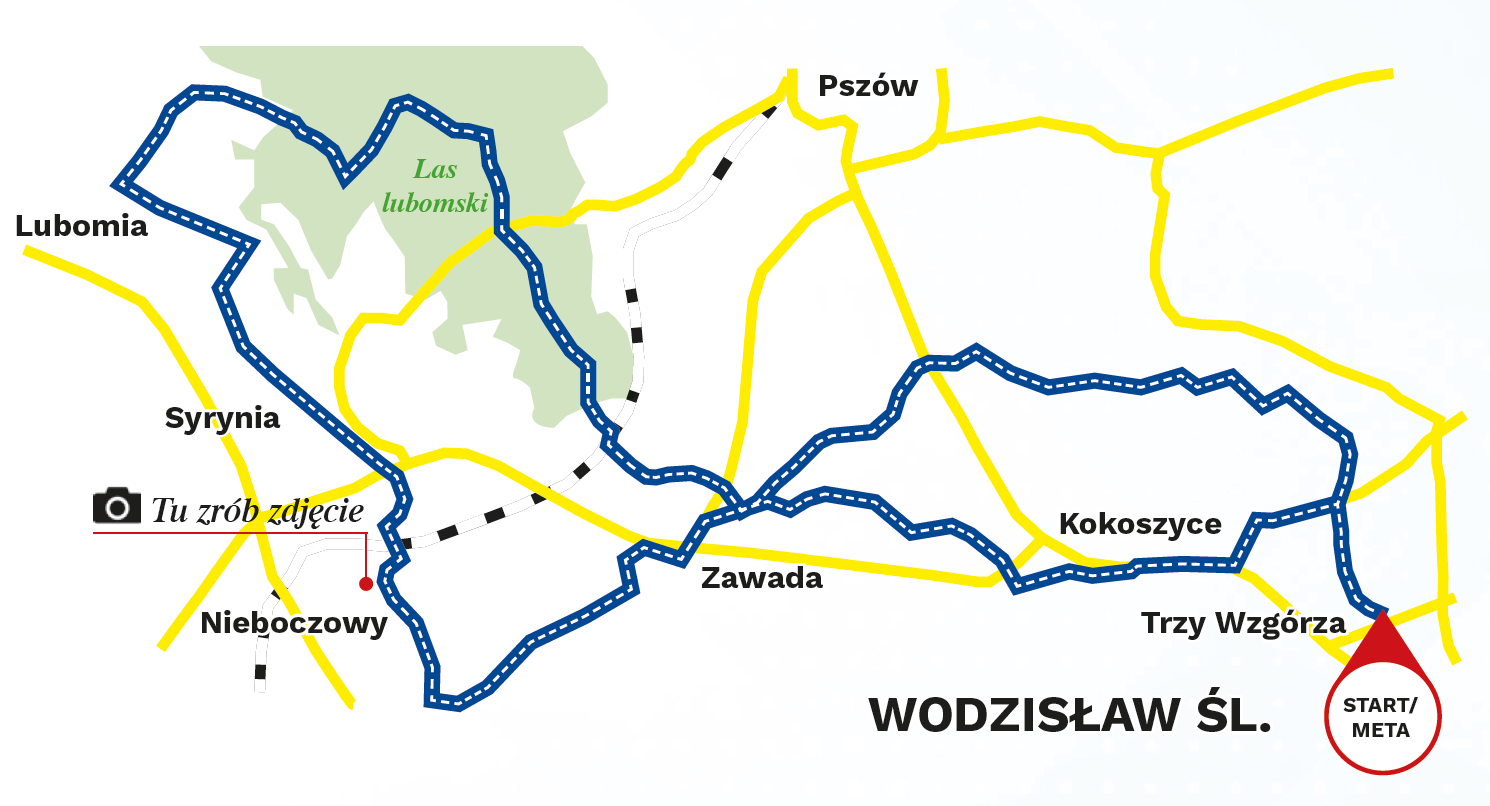 mapa_wodzislaw_leśna